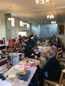 St James - Art event using funds from grant